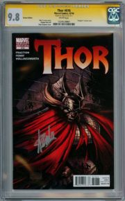 Thor #616 Stegman Vampire Variant CGC 9.8 Signature Series Signed Stan Lee Marvel comic book